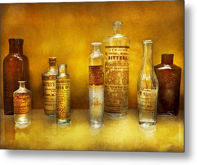 Doctor - Oil Essences Metal Print by Mike Savad