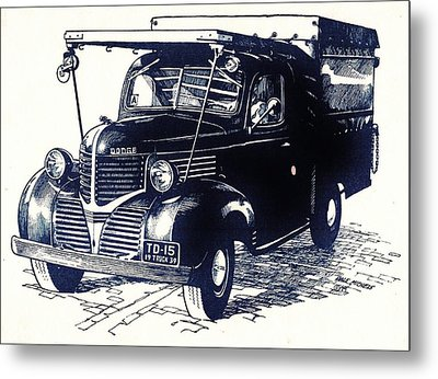 Dodge Truck Metal Print by Dale Michels