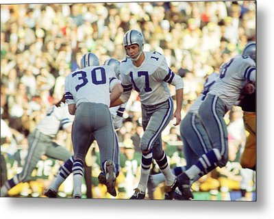 Don Meredith Hands Off Metal Print by Retro Images Archive