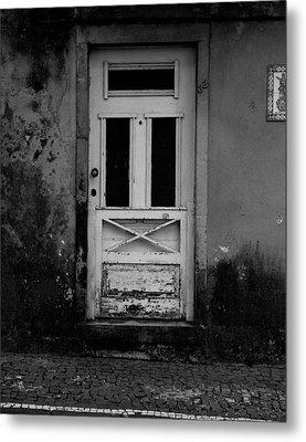 Door-8 Metal Print
