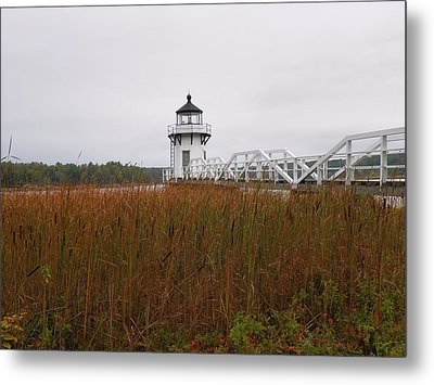 Doubling Point Light Metal Print