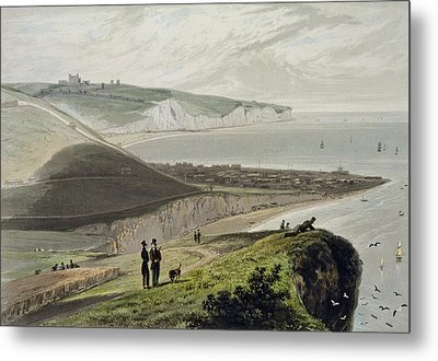 Dover, From Shakespeares Cliff, From A Metal Print