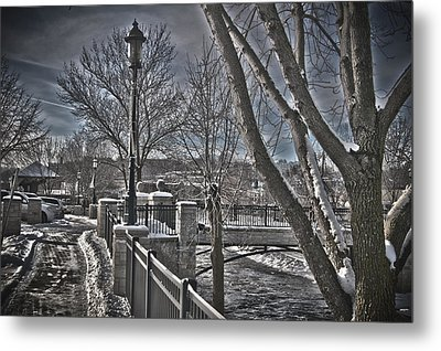 Metal Print featuring the photograph Down By The River by Deborah Klubertanz