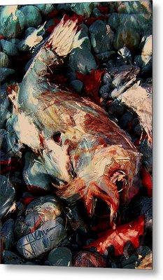 Metal Print featuring the digital art Downward Spiral by Jim Vance