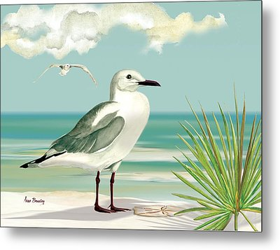 Downwind Metal Print by Anne Beverley-Stamps