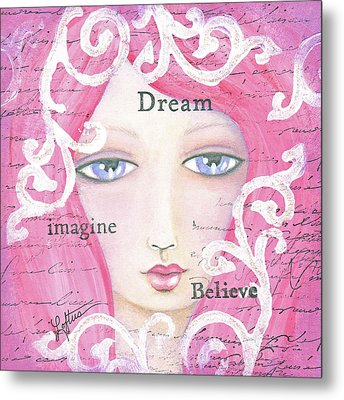 Dream Girl Metal Print by Joann Loftus