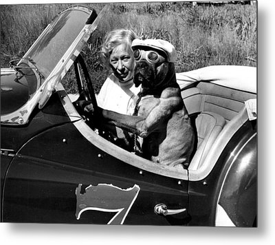 Driving Lessons Metal Print by Retro Images Archive