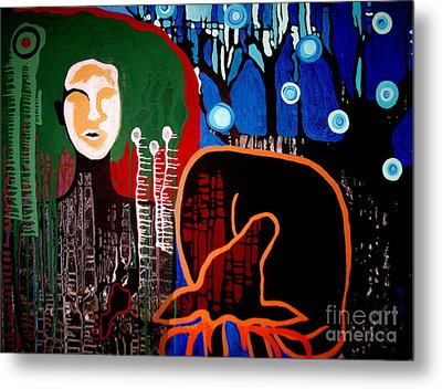 Dropped Metal Print by Amy Sorrell