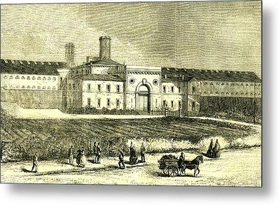 Dublin Ireland 1866 Mountjoy Prison Metal Print by Irish School