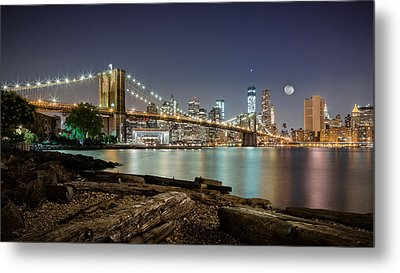 Dumbo After Midnight Metal Print