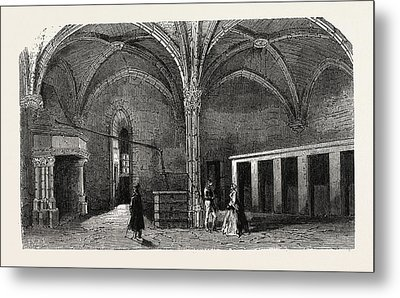 Dungeon Of Vincennes Hall Of Cardinals Metal Print
