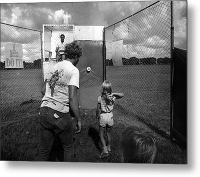 Dunking Booth Metal Print by Retro Images Archive