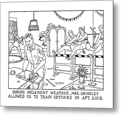 During Inclement Weather Metal Print