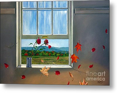 Early Autumn Breeze Metal Print by Christopher Shellhammer