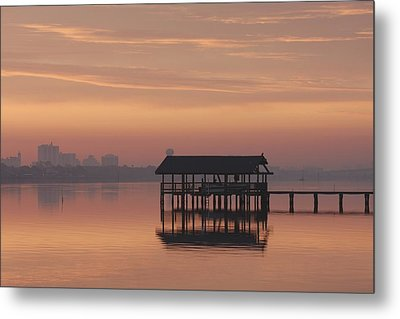 Early Morning Metal Print by Kimberly Oegerle