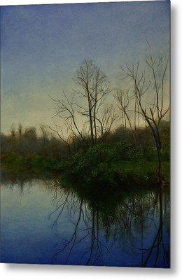 Metal Print featuring the painting Early Spring by Wayne Daniels