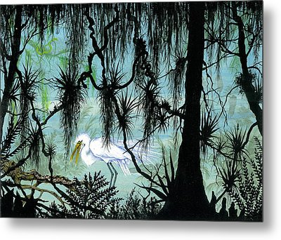 Early To Rise Metal Print by Richard Brooks