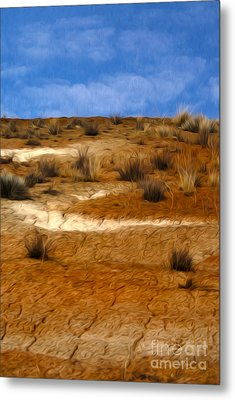 Earth Metal Print by Nur Roy