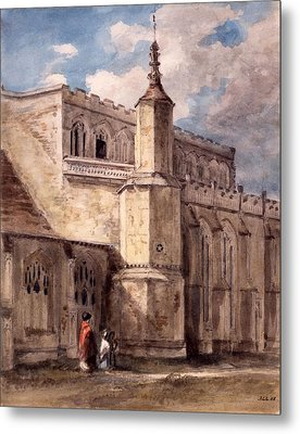 East Bergholt Church, Northside Metal Print