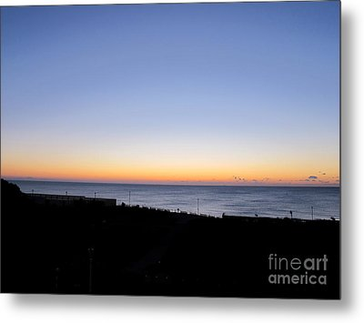 Eastbourne Sunset Metal Print