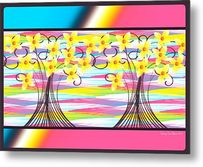Easter Morning Metal Print by Sherry Flaker