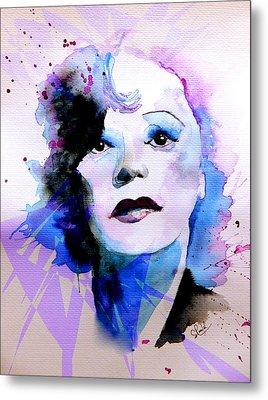 Edith Piaf Metal Print by Steven Ponsford