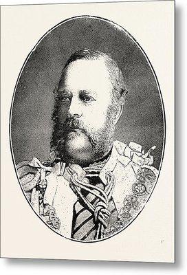 Edward Nugent Leeson, Sixth Earl. Of Milltown Born October 9 Metal Print by English School