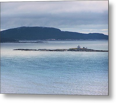 Egg Rock Light Metal Print