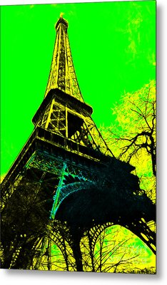 Eiffel 20130115v2 Metal Print by Wingsdomain Art and Photography