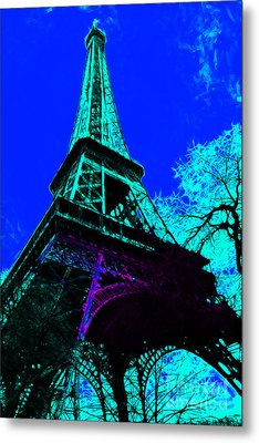 Eiffel 20130115v4 Metal Print by Wingsdomain Art and Photography