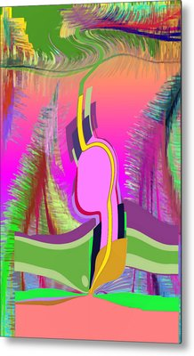 Ej Dance With Sne Metal Print by Stephen Coenen