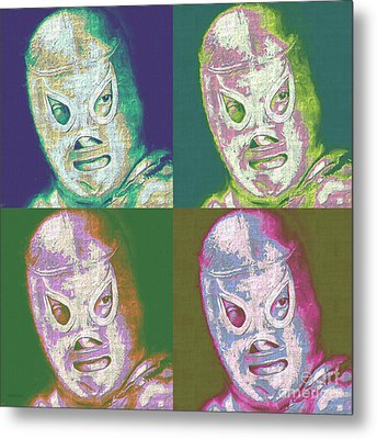 El Santo The Masked Wrestler Four 20130218 Metal Print