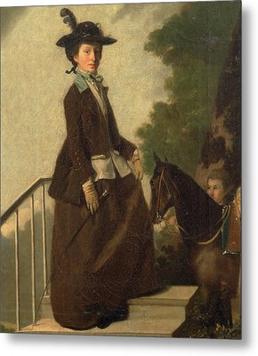 Elizabeth Bridgman Metal Print by Litz Collection