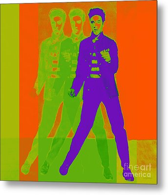 Elvis Jail House Rock 20130215m28 Metal Print by Wingsdomain Art and Photography
