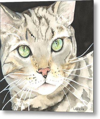 Emerald Eyes Metal Print by Kimberly Lavelle