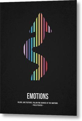 Emotions Metal Print by Aged Pixel