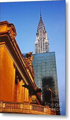 Empire State Metal Print by Alison Tomich