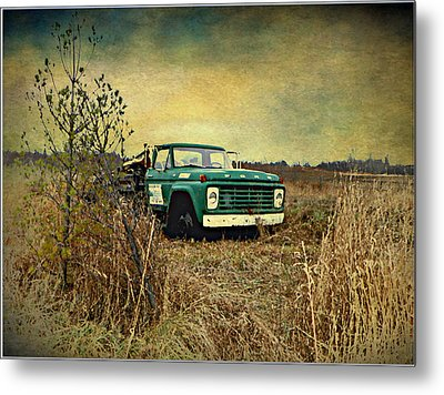 End Of The Ride  Metal Print by Dianne  Lacourciere