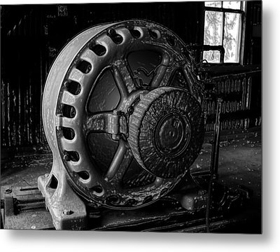 Engine Of A Mad Scientist Metal Print by David Lee Thompson