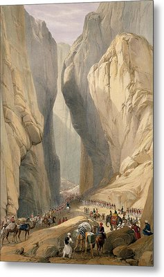 Entrance To The Bolan Pass From Dadur Metal Print