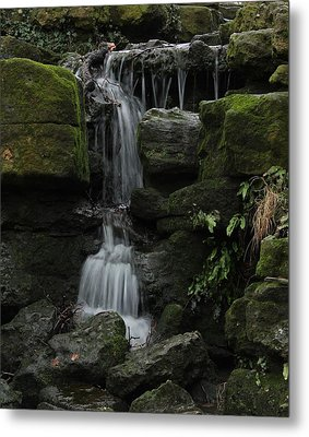 Even When We Fall Metal Print by Theresa Selley