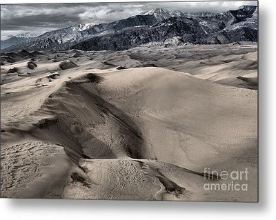 Evening At The Dunes Metal Print by Adam Jewell
