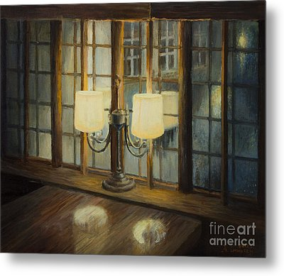 Evening For Two Metal Print by Kiril Stanchev