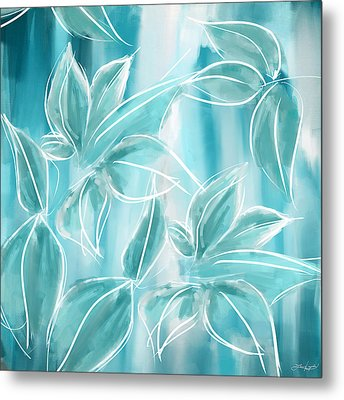 Exquisite Bloom Metal Print by Lourry Legarde