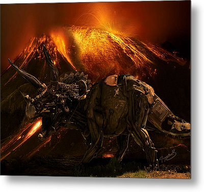 Extinction    The Second Coming Metal Print by Jeremy Martinson
