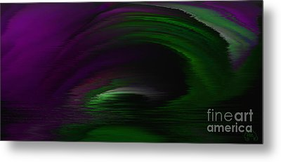 Eye Of The Storm Metal Print by Patricia Kay