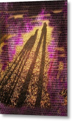 Facing The Sun Metal Print by Ernestine Manowarda