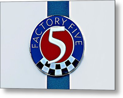 Factory Five Metal Print