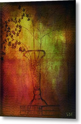 Fading Memory  Metal Print by Sherry Flaker