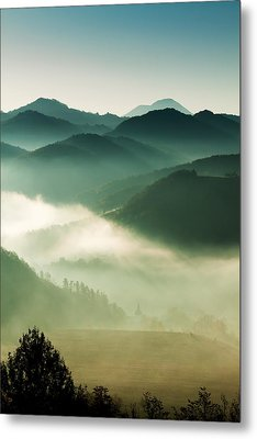 Fairyland Morning Metal Print by Mircea Costina Photography
